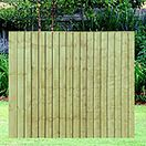 Tanalised Featheredge Panel
