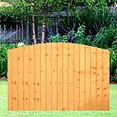 Dome Top Featheredge Panel